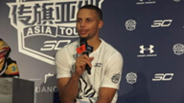 Curry targets second NBA title