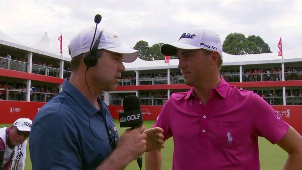 CIMB Classic: Justin Thomas Interview Day 4