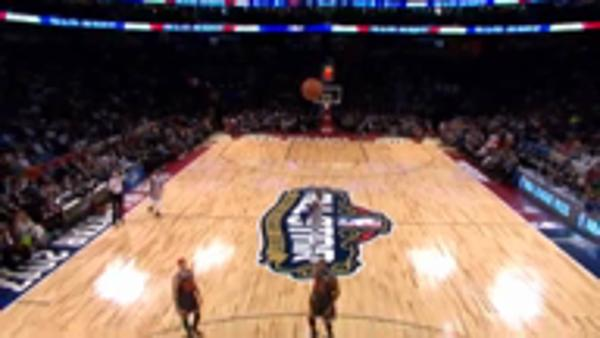 LeBron showcases talent at All-Star game
