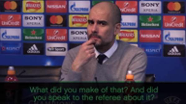 Guardiola refuses to discuss Aguero penalty shout