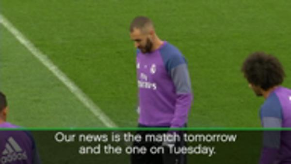 Deschamps not discussing Benzema absence