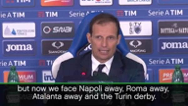 Allegri sets Juventus points target to win Serie A