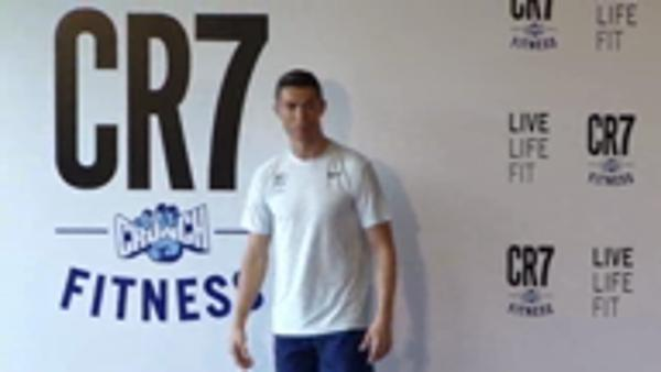 Ronaldo's excitement at new gym opening