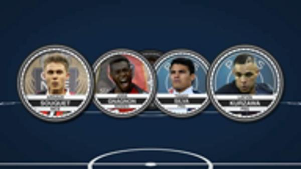 Depay stars in the Ligue 1 team of the week