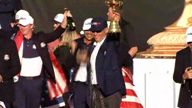 USA Ryder Cup champagne celebrations