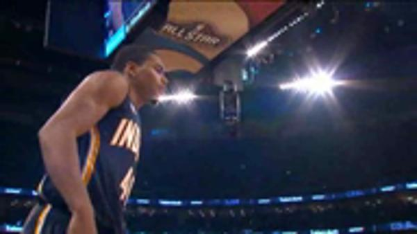 Robinson III wins slam dunk contest