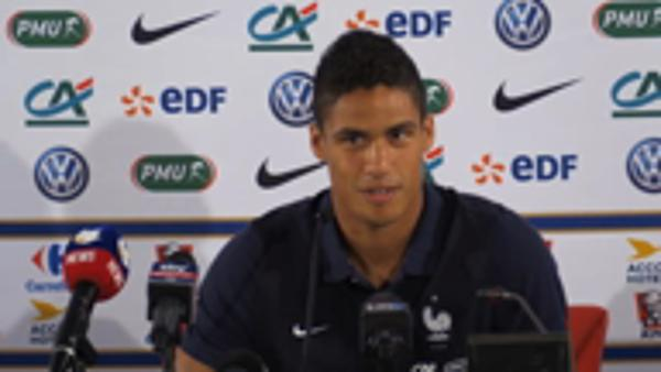 Varane remembers 2006 World Cup final disappointment
