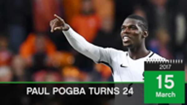 Born This Day...Paul Pogba turns 24