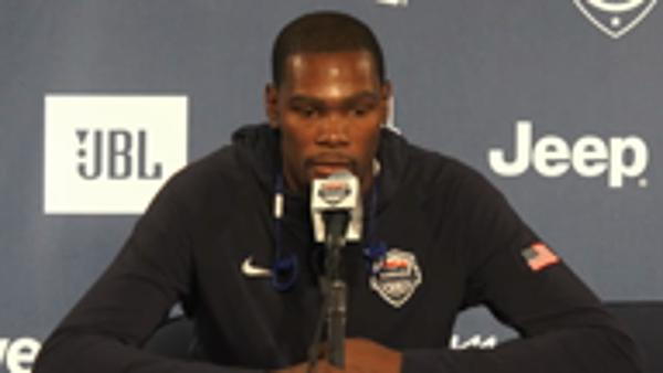 Durant excited for new challenge