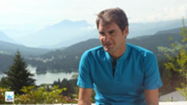 Federer positive on injury recovery