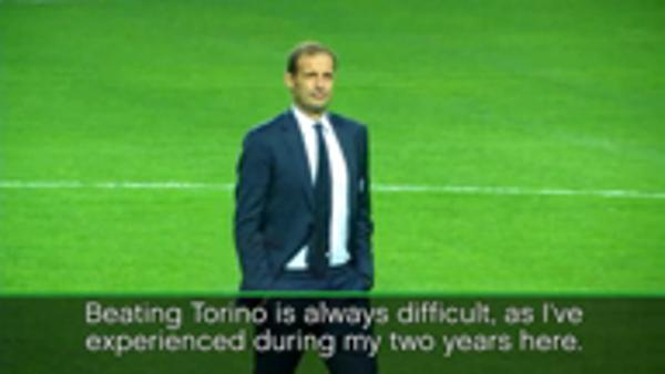 Allegri wary of Torino derby test