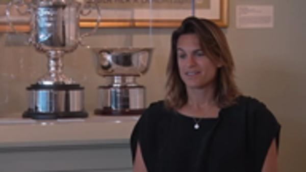 Mauresmo and Henin describe playing in US Open