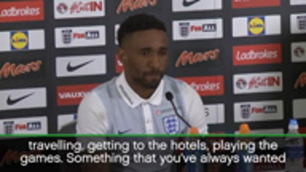 Defoe 'dreaming' of World Cup place