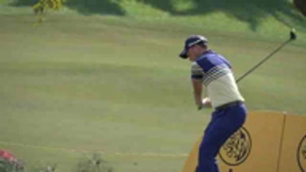 Wiesberger leads after birdie-rush