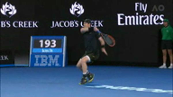 Australian Open Day 3 Highlights...Murray and Kerber reach round three