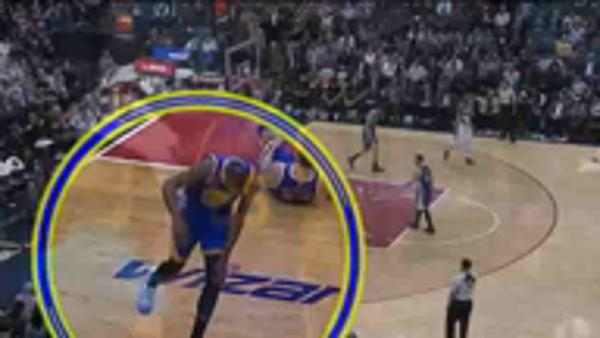 MVP candidate Durant suffers freak injury