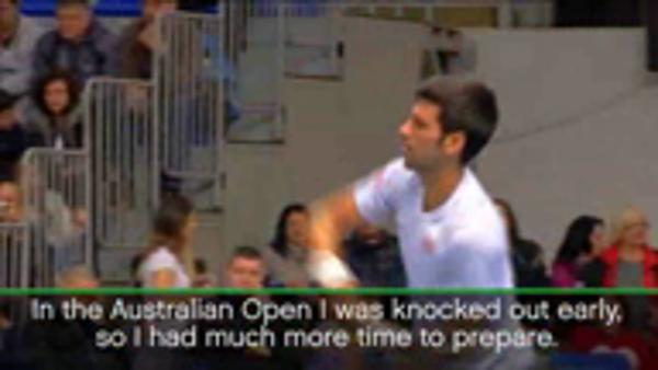 Representing Serbia a positive of Aus Open exit - Djokovic