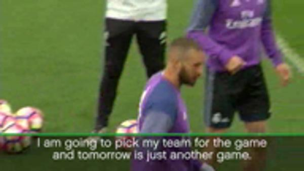 Benzema will play when I choose - Zidane