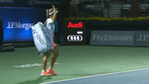 Kerber cruises past compatriot Barthel