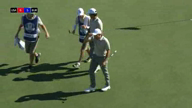 Cabrera-Bello holes putt to pull all-square