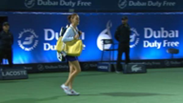 Bellis upsents Radwanska in Dubai
