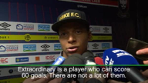 Mbappe doesn't see himself as 'extraordinary'