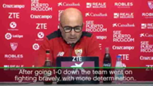 We didn't give in against the unbeatable - Sampaoli