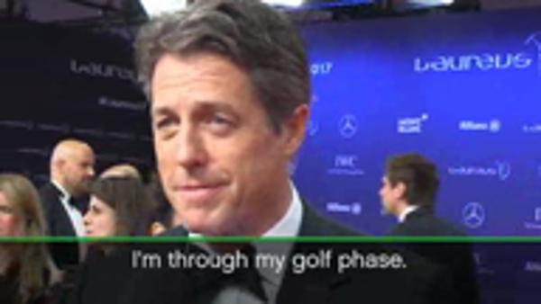 Tennis sends Hugh Grant to sleep