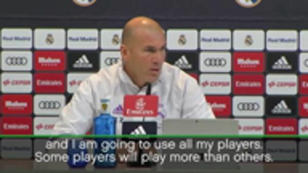 Squad essential to our success - Zidane