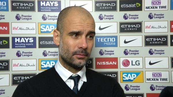 Pep Guardiola Post Match Interview