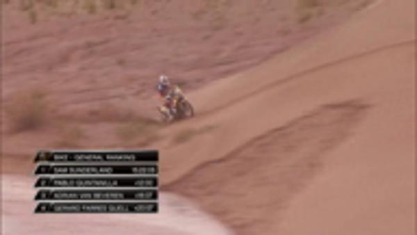 MOTORSPORT: Dakar Rally: Highlights from stage five