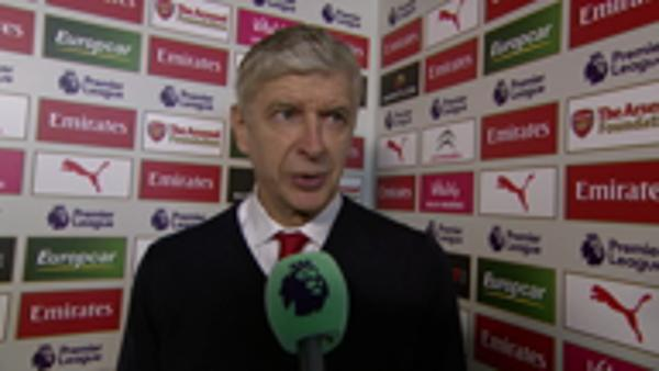 Arsene Wenger Post Match Interview