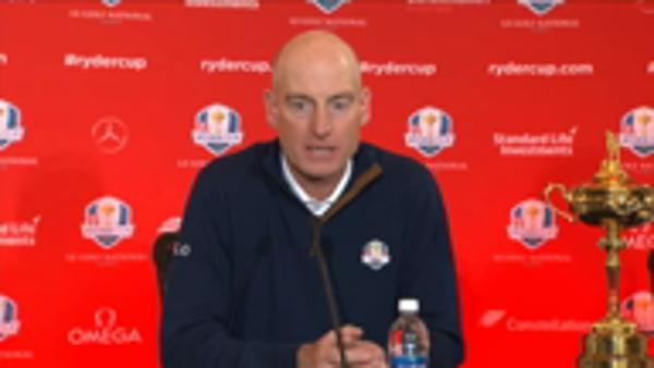 I'll dine with my past Ryder Cup captains - Furyk