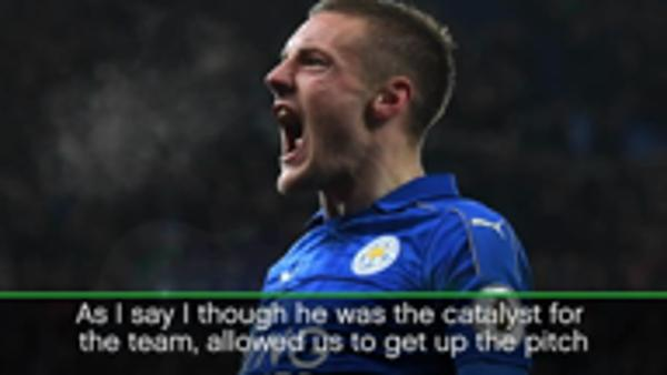 Vardy the 'catalyst' for Leicester win - Shakespeare