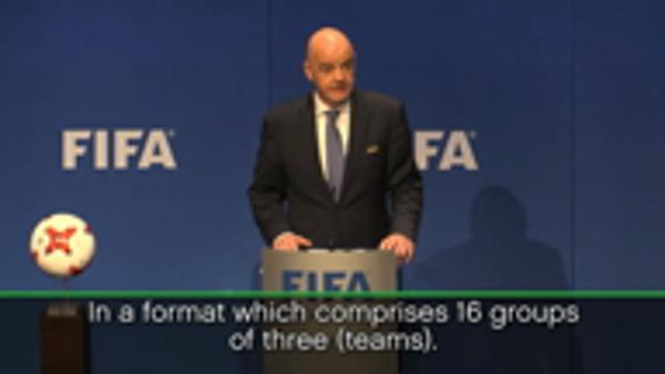 FIFA agree to expand World Cup