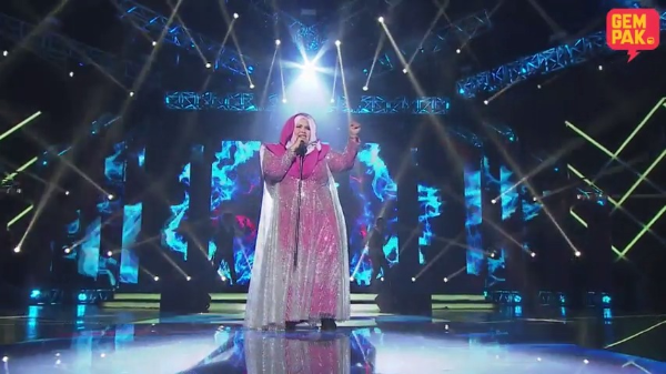 Konsert Gegar Vaganza 2017 (Semi Final) : Aishah - River Deep Mountain High
