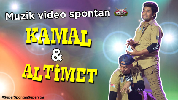 Super Spontan Superstar : Muzik Video Spontan - Monyet Mafia
