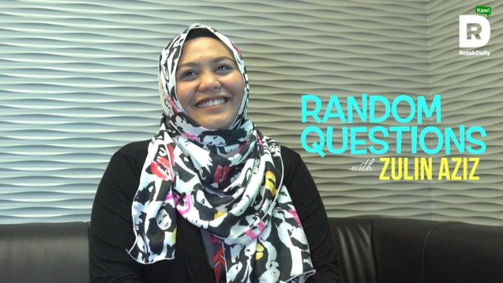 Random Questions With... Zulin Aziz