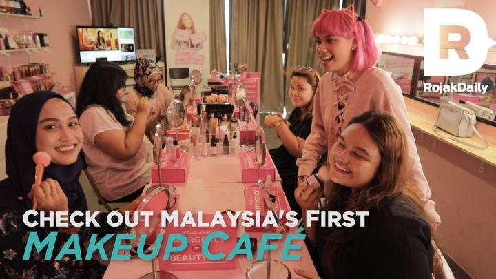 Check Out Malaysia's First Makeup Café