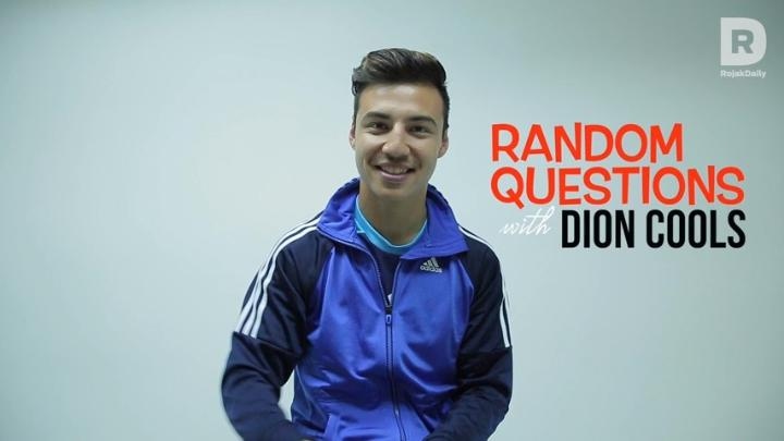 Random Questions With... Dion Cools