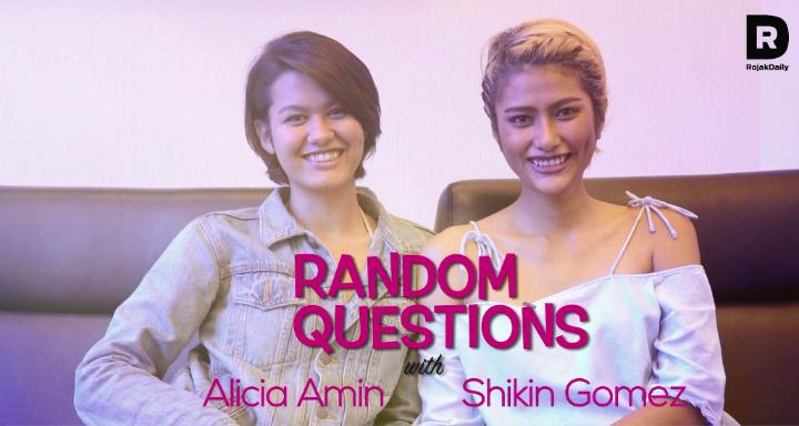 Random Questions With... Alicia Amin and Shikin Gomez