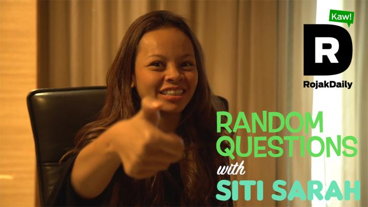 Random Questions With... Siti Sarah