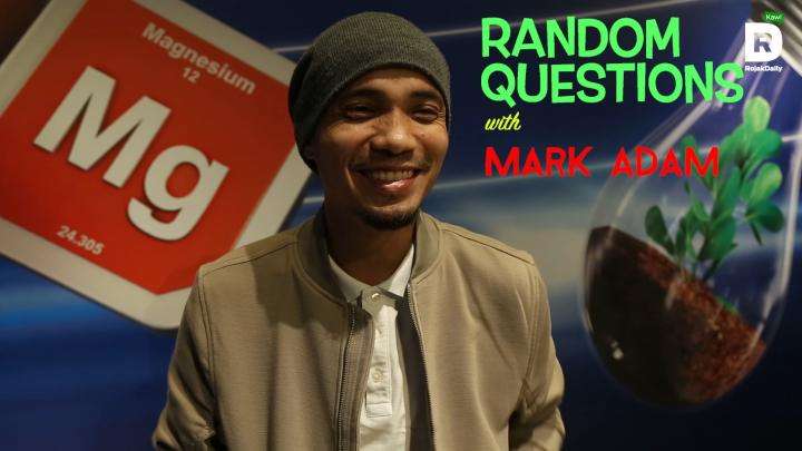 Random Questions With... Mark Adam