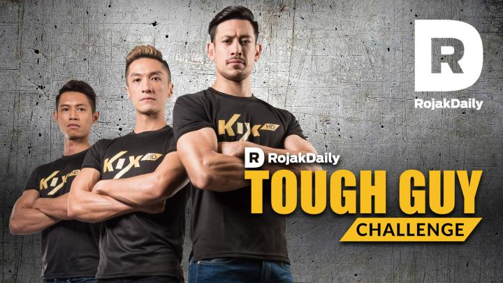 Rojak Daily's Tough Guy Challenge