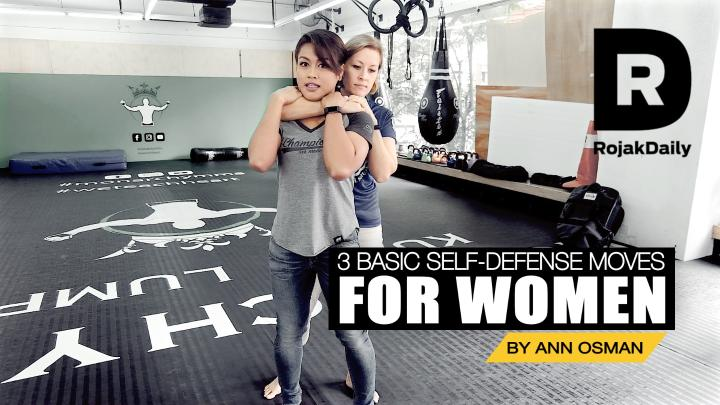 Basic Self-Defense Moves With MMA Fighter, Ann Osman