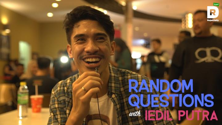 Random Questions With... Iedil Putra